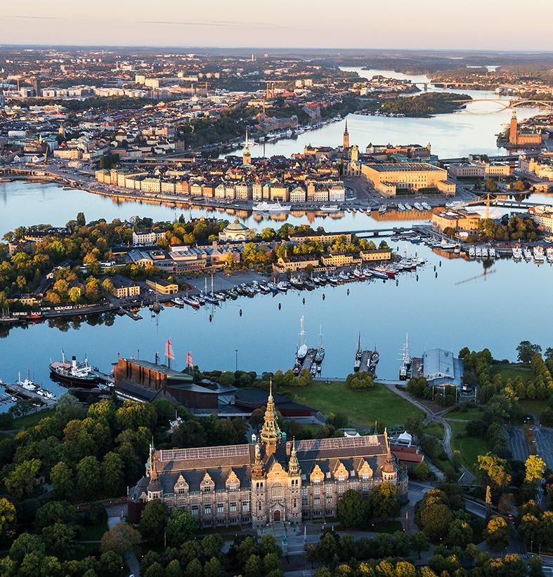 gångavstånd stockholm
